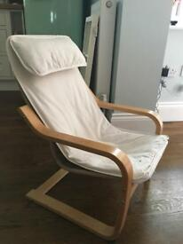 Child's Ikea Poang Chair