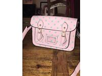 LYDC Pink polka dot bag (brand new)
