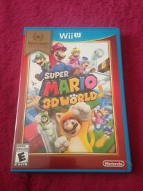 Super mario 3D World- Nintendo Wii u