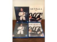 Spectre and Skyfall on Blu Ray