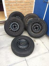 5 used tyres