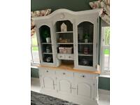 As new kitchen living dining room dresser sideboard display cabinet