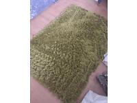 Rugs , Green .(1 large, 1 small ) Pictures/Cushions/Bed Throw