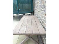 Garden table John Lewis Croft Collection Islay