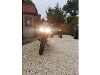Lexmoto XTRs 125cc, LOW MILEAGE, BLACK