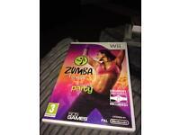 Wii Zumba game