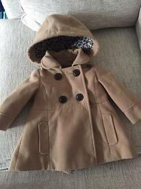 Girls next coat 6-9 months