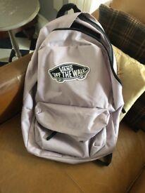 Vans backpack / schoolbag