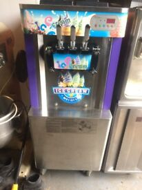 Ice Cream Machine Triple Head 3 Years Old Floorstanding ,Single Phase Any Inspection Welcome £1500