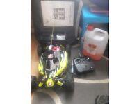 Rc nitro car 1/8th scale