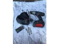 36 VOLT BOSCH PROFESSIONAL DRILL WITH HAMMER, BATTERY, CASE AND CHARGER