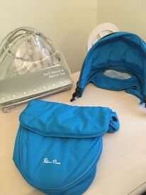 Sky blue Silver cross surf hood and apron colour pack
