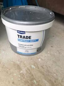 Wickes contract white paint 10L