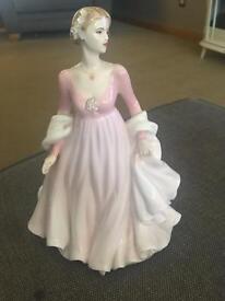 Coalport figurine