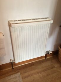 Panel radiator with towel rail - good condition
