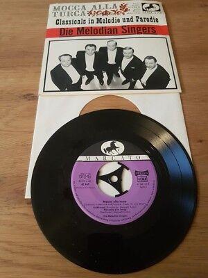 "Marcato Mocca Melodian Singers Classicals 7"" Platte 45 Single Schallplatte"