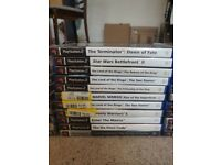 PlayStation 2 with 30 Games, Memory Card, Guitar Hero Controller