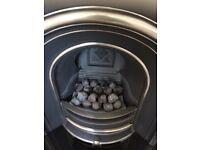 Gallery Lytton Cast Iron Fireplace Insert, Coal Effect Gas Fire