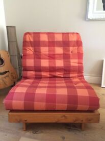 Single Futon fold out bed/chair excellent condition