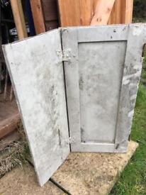 Old doors - smaller cupboard size. 300mm by 600.