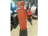 47kg propane calor gas bottle EMPTY patio log stove