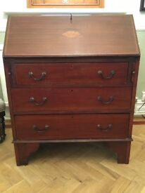 Edwardian Bureau in very good condition