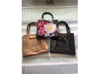 BARGAIN TED BAKER BAGS £15.00 FOR THE LOT