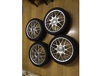 Vw golf anniversary bbs alloy wheels