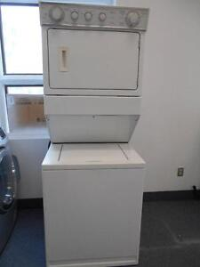 STACKED WASHER,DRYER / LAVEUSE,SECHEUSE SUPERPOSEE