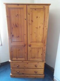 beautiful pine wardrobe handmade at wentworth pine