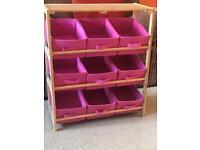 Storage for kids room