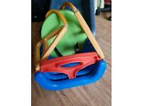 Childs swing seat
