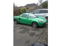 Mk3 Mr2 1.8 vvti in green