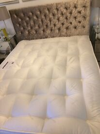 Like new king size Hypnos mattress. £525 new so real bargain