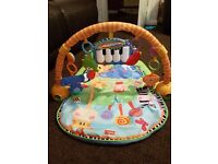 Fisher price piano baby gym