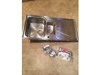 Franke Simplon 1.5 Stainleas steel sink - brand new