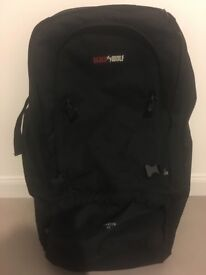 Black wolf Cancun 80 litre backpack