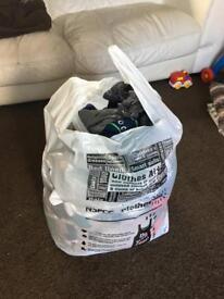 Big bag of 0-3 month boys clothes
