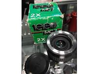Tele plus MC7 2x mx converter camera lens