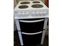 Bush AE56DW electric cooker