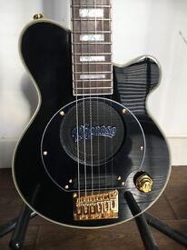 Pignose PGG-259-BK Mini Electric Guitar With Built In Amplifier - Black