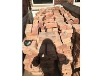Reclaim common bricks for sale 900 in total.. 232mm wide x 77mm thick x 112mm depth..