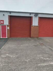 1,800 sqft Storage unit with Office to Let near Kidderminster suitable for E Commerce