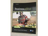 Business Ethics, author Andrew Crane, 3th ed.