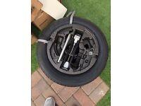 Full spare tyre for Skoda Rapid Spaceback Sport