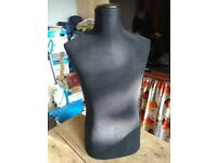 Antique male torso mannequin