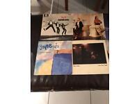 """Genesis, phill Collins, Peter Gabriel 7 """" singles(10 in total)"""