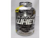 Muscletech Platinum Whey protein 2.27kg !!!