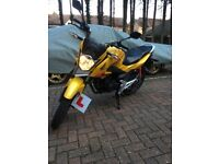 Honda Cb125f 2017 (17 plate) perfect first bike, immaculate condition.