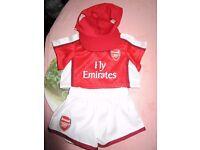 Build A Bear Arsenal Football Outfit